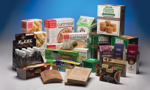 Horizontal Food Packaging Box