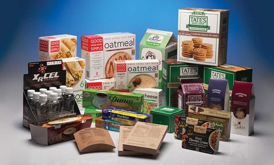 Horizontal Food Packaging Box
