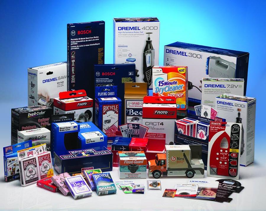 Horizontal Household Packaging Box
