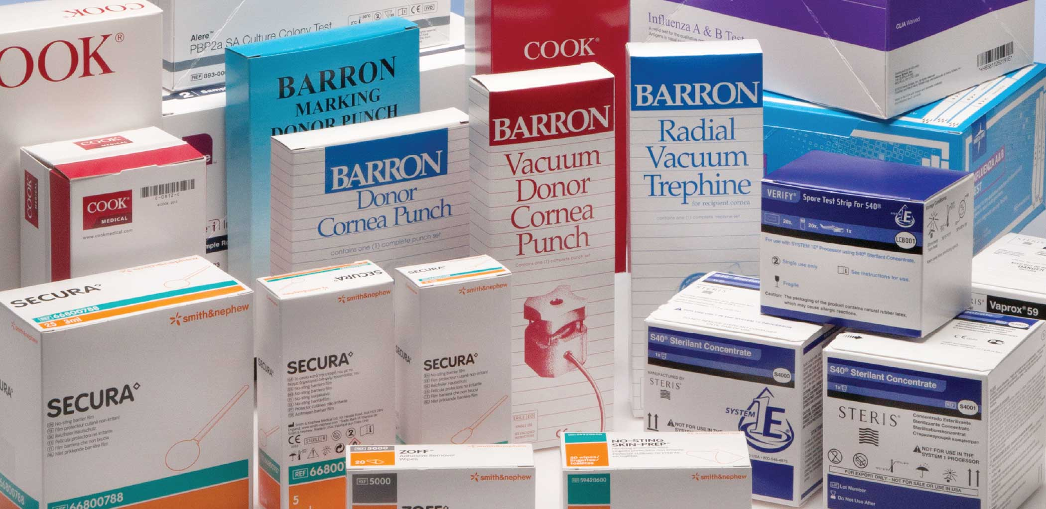 Graphic Folding Cartons For Medical