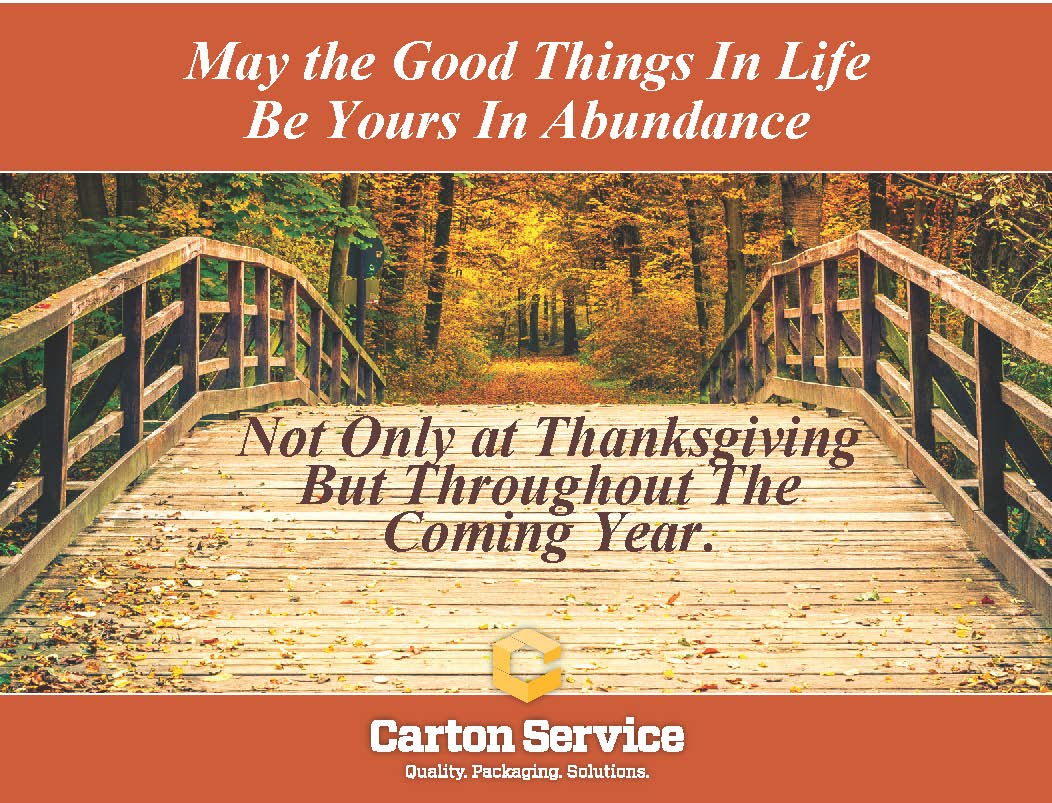 happy thanksgiving to our friends your