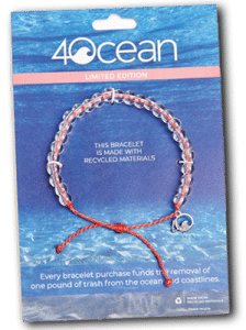 4 Ocean Bracelet Made Of Recycled Materials
